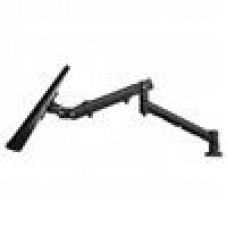 Systema MonitorSpring Arm Des Bolt Through & Desk Clamp BLK