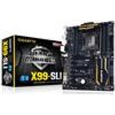 Gigabyte GA-X99-SLI Motherboard LGA2011 8xDDR4 GbE 2xPCIE16 1xM.2 4xSLI 4xCrossFire 1xSATAE 4xUSB3 ATX (LS)