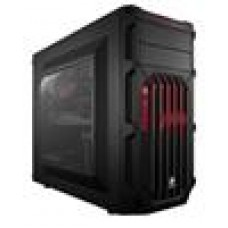(LS) Corsair SPEC-03ATX w/Red 7x PCI Slots Mid-Tower Mini-ITX, mATX, ATX Case