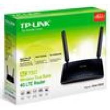 TP-Link Archer MR200 AC750 Wireless Dual Band 3G/4G LTE Router 5GHz (433Mbps) 2.4GHz (300Mbps) 802.11ac 3x100Mbps LAN WAN SIM slot 2xExternnas