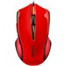 RAPOO V20 RGB Optical Gaming Mouse Red - Upto3000dpi,16mColourLight (LS)