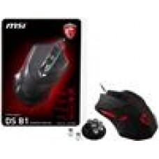 MSI Interceptor DS B1 Gaming Mouse DPI1600+ Weight Adjust 6Key