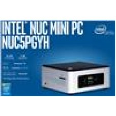 Intel NUC mini PC N3700 2.4GHz 2GB DDR3L SODIMM 32GB eMMC Win10 Home 2.5