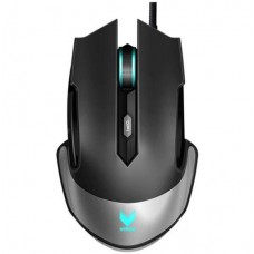 RAPOO V310 RGB Laser Gaming Mouse Black - Upto 8200dpi Metal Finish 16m-Color Smart Proximity Sensing Breathing Light (LS)