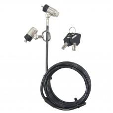 Targus DEFCON® Dual P2MKL Cable Lock LS