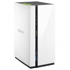 QNAP TS-228 NAS, 2BAY (NO DISK ), 1GB, ARM-1.1GHz, USB, GbE(1 ), 2YR LS->BAQN-TS-228A