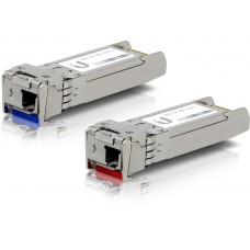 Ubiquiti U Fiber  SFP+ Single-Mode Module 10G BiDi 20-pack