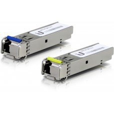 Ubiquiti U Fiber  SFP  Single-Mode Module 1G BiDi 2-pack