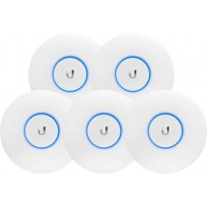 Ubiquiti UniFi Wave 2 Dual Band 802.11ac AP with Security & BLE 5 Pack