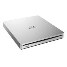 Pioneer BDR-XS06T 8x Slim External Portable USB 3.0 Blu-Ray Writer Burner White Slot Load Supports BDXL Blu-ray DVD & CD media ~BP50NB40
