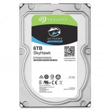 Seagate 6TB SkyHawk 256MB SATA HDD, Surveillance Optimized, NVR Ready, ImagePerfect e, RVS HDD (ST6000VX0023)
