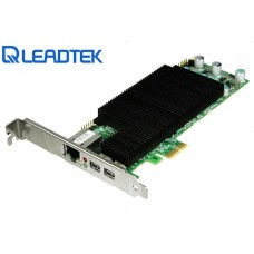 Leadtek TERA 2220 Host Card PCoIP remote acceleration 2xDisplays 1920x1200 2xmDP Low Profile PCIe 130Mpps 512MB Ethernet RJ45 Edition