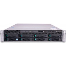 Intel E5 2U Mainstream Rackmount Server, E5-2620v4 (1/2), 16GB DDR4 RECC Reg (2/24) 1x 240GB (1/8),  LSI3108, BBU, RMM, 2x 10GbE, 1100W PSU