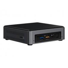 Intel NUC mini PC i5-7260U 3.4GHz 2xDDR4 SODIMM M.2 SATA/PCIe SSD HDMI DP via USB-C 3xDisplays GbE LAN Wifi BT 4xUSB3.0 for Digital Signage POS