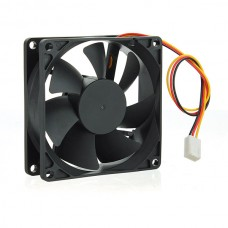 80mm Silent Case Fan - Keeps case and component cool. Molex Connector. Bulk Pack. No Screw included. Molex 4pin