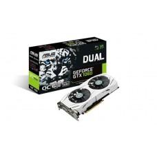 Asus nVidia DUAL-GTX1060-O6G PCIe Card GDDR5 8K 7680x4320 2xDP 2xHDMI 1xDVI 1785/1569 MHz