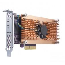 QNAP QM2-2P CARD, DUAL M.2 PCIe SSD EXPANSION CARD, LOW PROFILE BRACKET