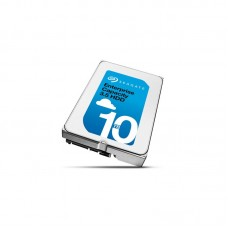 Seagate 10TB Enterprise SATA HELIUM ENT CAP 3.5' 12GB/S 7200RPM 24x7 data availability HDD.
