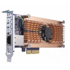 QNAP QM2-2P10G1T CARD, DUAL M.2 PCIe SSD, 10GBASE-T(1) EXPANSION CARD,LOW PROFILE BRACKET
