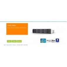 QNAP TS-EC1680U-E3-4GE-R2, NAS Server, 16BAY, 4GB, XEON E3, 8x USB, 2x 10GbE SFP+, 3U Rackmount ,3 Years Warranty