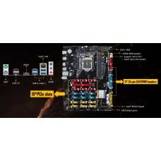 Asus B250 MINING EXPERT S1151, ATX MB, 2xDDR4, 1xPCIEx16, 18xPCIEx1, 4xSATA, 4xUSB3.1