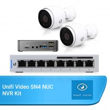 Ubiquiti Unifi Video Budget Bundle – SN4 NVR, 2x Bullet Cameras & 8 Port Switch