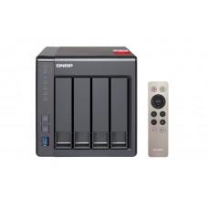 QNAP TS-451PLUS-2G NAS, 4-BAY (NO DISK), CEL QC-2.0GHz, 2GB, USB, GbE x2, TWR, 2 Year Warranty