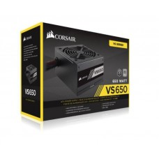 Corsair 650W VS Series, VS650, Active PFC, 80 PLUS White Certified Power Supply