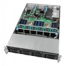 Intel 2U Rackmount Server,  Intel Xeon Silver 4110 (1/2)  8x 2.5