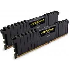 Corsair Vengeance LPX 32GB (2x16GB) DDR4 4133MHz C19 Desktop Gaming Memory Black - Vengeance Airflow Included