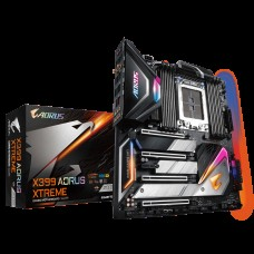 Gigabyte X399 AORUS XTREME E-ATX MB TR4 AMD ThreadRipper 2 8xDDR4 5xPCIe 3xM.2 RAID 2xIntel GbE+10GbE LAN WiIFi BT 4xCF/SLI 1xUSB-C 8xUSB3.1 RGB