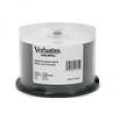 Verbatim CD-R 700MB 50Pk White Wide Inkjet 52x