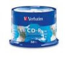 Verbatim CD-R 700MB 50 Pk Silver