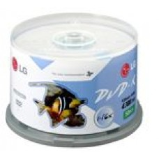 LG 16X DVD-R Spin 50PK Printab 16x, Printable