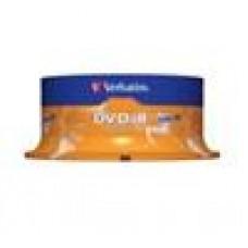 Verbatim DVD-R 4.7GB 25Pk Spindle 16x