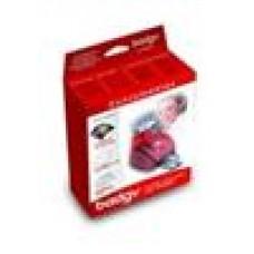 Badgy Consumables (SO) Inc 1 Ribbon, 100 Cards 20mm