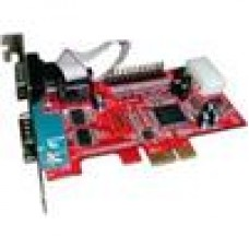 Condor 2 Port PCI-E Serial Port Card OXFORD - GB5 Low Profile Bracket Included. MP952ER2 PCIE