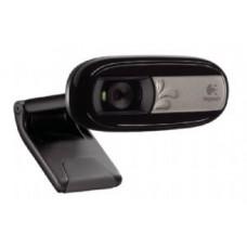 Logitech C170 5MP USB Webcam Built-in mic noise reduction Pan Tilt Zoom Video & photo capture Face tracking Motion detection Universal Clip 960-000761