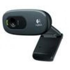 Logitech C270 3MP HD Webcam 720p/Built in Mic/Light Correc/IM compatibility - 960-000584