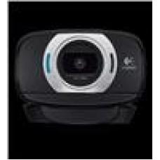 Logitech C615 8MP Webcam Autofocus/1080p/Pan/Tilt/Zoom Fold-and-Go Design, 360-Degree Swivel