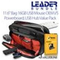 11.6 Bag 16GB USB Wireless Mse PBoard USB Hub Internet Sec 14