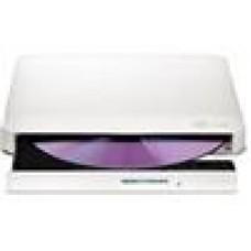 LG Slim Ext DVDDrive White USB2.0, 8x DVD
