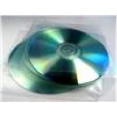 PVC CD Sleeves 100 Pack