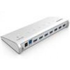 ORICO 7x USB3.0HUB Silver Aluminum 1m Cable MacDesign