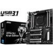 (LS) MSI X99A SLI Krait ATX USB 3.1 S2011-3,DDR4,M.2,SLI/CF,RAID