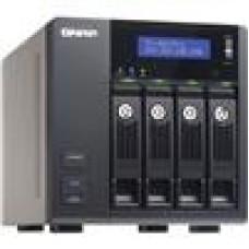 Qnap TS-453 Pro4 Bay NAS Cel 2.0Ghz/2GB/4xGbE/2Yr Wty (LS)