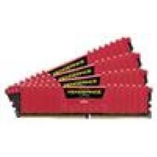 (LS) Corsair 16GB (4x4GB) DDR4 3000MHz Vengeance LPX Red