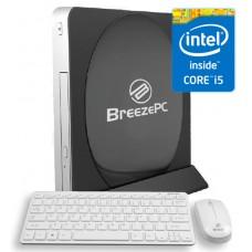 Leader Breeze Visionary 5PRO Slim PC Black With wireless keyboard&Mouse, Intel Core i5-4210u, 8GB , 500GB, DVDRW, VESA. WIN10 PRO, 3 Years warranty