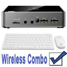 **PRO VERSION SPECIAL ONLY $10ex MORE - SEE SN4-X5-4GBPRO** Leader NUC format PC SN4, Intel Z8350 Quad Core 1.92GHz, 4GB DDR3, 32GB+32GB, 802.11AC/B/G