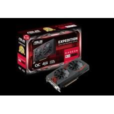 Asus AMD Radeon EX-RX570-O4G DDR5 PCIe Video Card 5120x2880 1xDVI 1xHDMI 1xDP 1266/1256 MHz